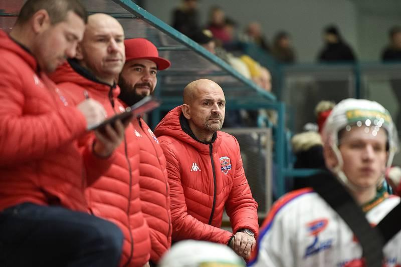 Chance liga: Poruba – Frýdek-Místek, 7. prosince 2019 v Ostravě. Na snímku Miloš Holaň.