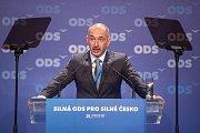 28. kongres ODS v hotelu Clarion Ostrava, 13. ledna 2018. Na snímku Martin Kuba.