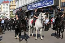 Z nedělní protestní akce Romů v Ostravě