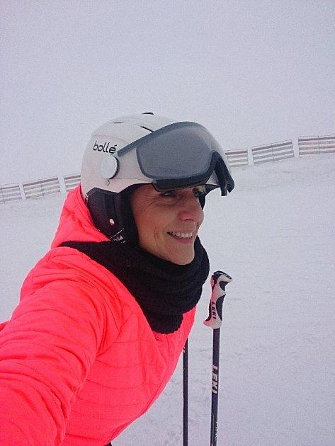 Ostravská lyžařská instruktorka Kateřina Smičková.
