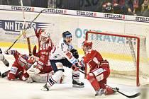 Hokejové derby: Vítkovice - Třinec