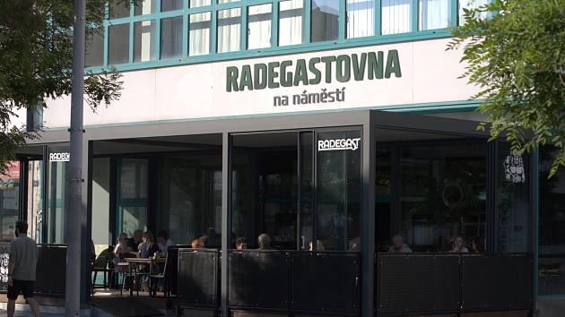 Radegastovna v centru Ostravy.