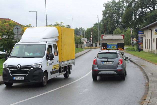 Vratimov řeší problém shustotou dopravy, zejména té nákladní.