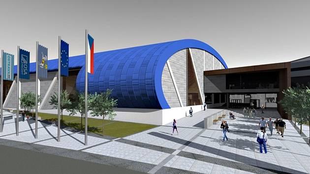 Atletická hala ve Vítkovicích patří mezi nejnovější sportovní projekty města Ostravy. Její stavba by měla přijít na více než čtvrt miliardy korun.
