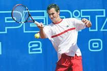 Jan Hernych na ostravském turnaji Prosperita Open