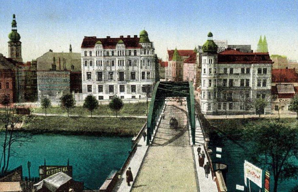 Ostrava v minulosti.