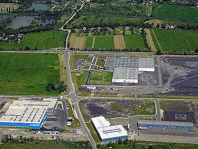 Průmyslová zóna Nové pole v Karviné