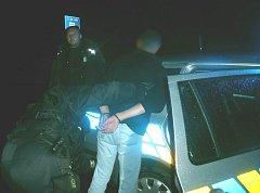 Policisté zadrželi prchajícího řidiče na Rudné ulici v Ostravě-Porubě