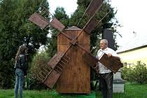 Poslední porubský větrný mlýn.