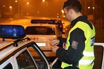Ilustrační foto z policejní akce Síto v ulicích Ostravy