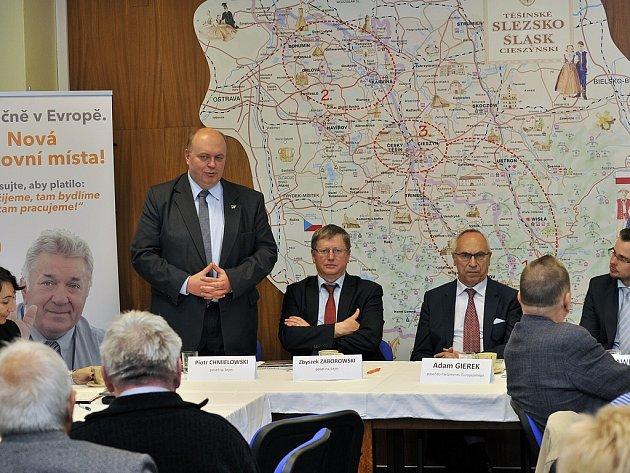 Setkání pro podporu kanálu Dunaj-Odra-Labe