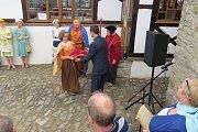 Oficiální otevření Jaroňkovy útulny po rekonstrukci se uskutečnilo 14. dubna 2016.