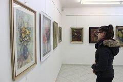 Zátiší ve výtvarném umění, výtvarné centrumChagallv Repinově ulici.