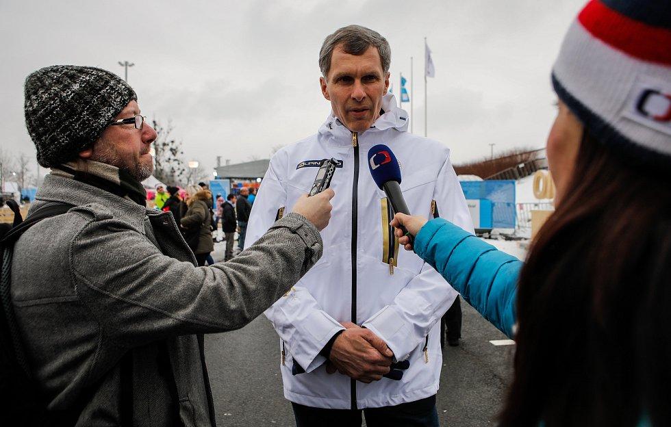 Olympijský festival u Ostravar Arény v Ostravě, neděle 18. února 2018, Jiří Kejval