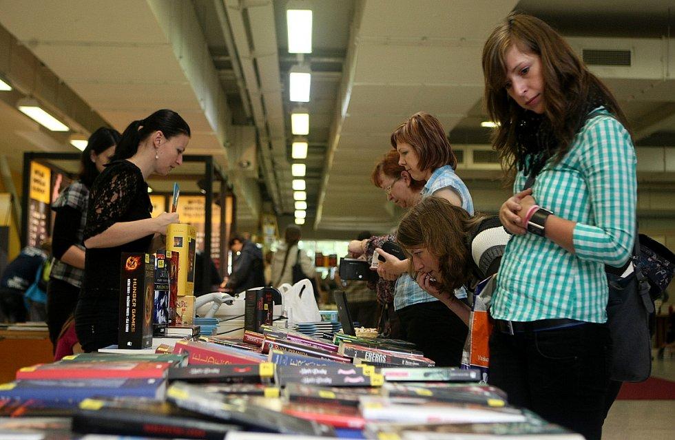 Druhý ročník Letního knižního veletrhu v Ostravě.