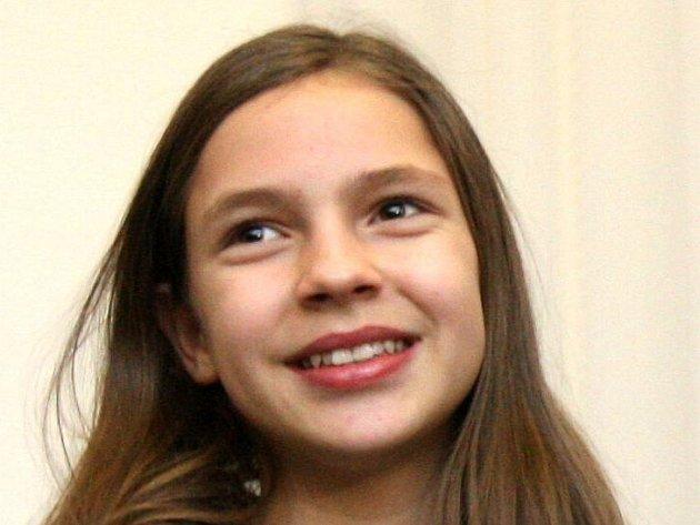Vítězka soutěže Talentmania Patricia Janečková.