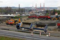 Stavba dálnice D47 v Ostravě