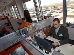 Telefonní centrum GR Money v Ostravě-Hrabové