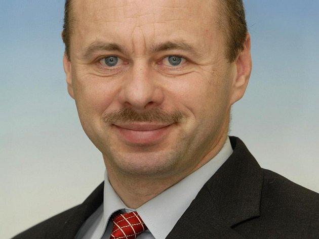 Nový rektor ostravské Vysoké školy podnikání Vladimír Krajčík.