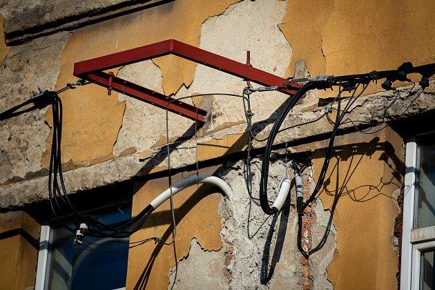 Ghetto ve Vítkovicích (ulice Erbenova), 10.zaří 2019vOstravě.