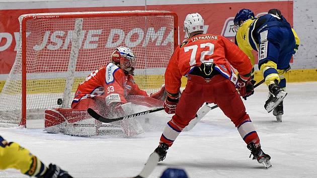 Hokejisté Poruby. Ilustrační foto.