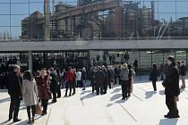 Přesně v den sto pětatřicetiletého výročí narození vědce Alberta Einsteina se poprvé veřejnosti otevřel Velký svět techniky v Dolní oblasti Vítkovic.