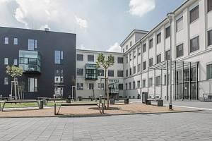 Moderní zázemí Lékařské fakulty v Ostravě Zábřehu.