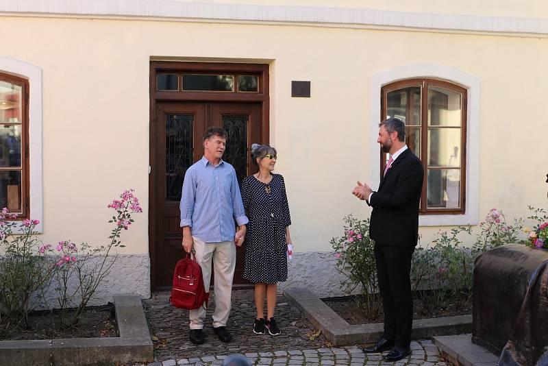 Rodný dům Sigmunda Freuda v Příboře.