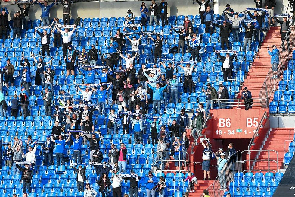 Fotbalisté Baníku Ostrava odehráli v sobotu 15. května 2021 utkání 32. ligového kola se Zlínem. Fanoušci Baníku si hned čtyřikrát zakřičeli gól. A to ještě jeden nebyl po konzultaci s VAR potvrzen.