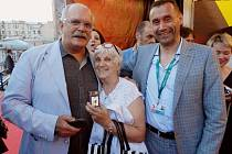 Josef Urban na MFF v Moskvě (vpravo)