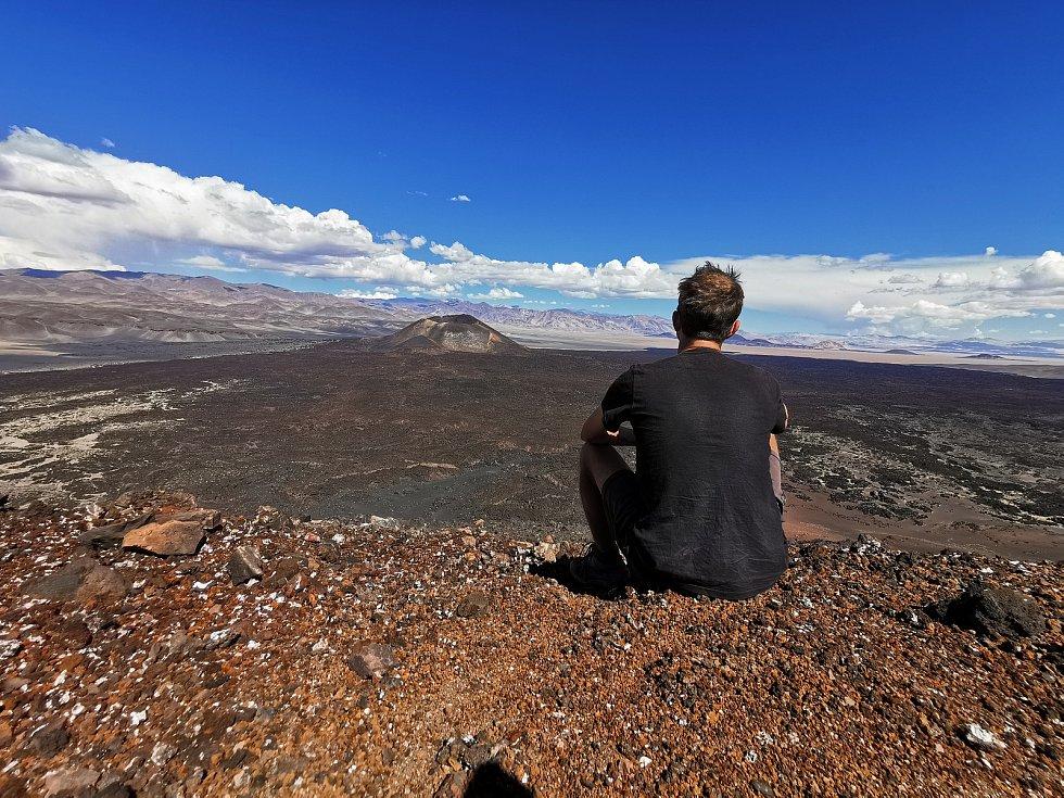CESTOVATEL Jan Rendl nachodil pěšky deset tisíc kilometrů po Jižní Americe, nyní je doma v pořádku po karanténě a pracuje na knížce o svých dobrodružstvích.