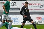 FORTUNA:LIGA - Skupina o titul, 5. kolo - FK Jablonec - FC Baník Ostrava, 8. července 2020 v Jablonci. Jakub Drozd