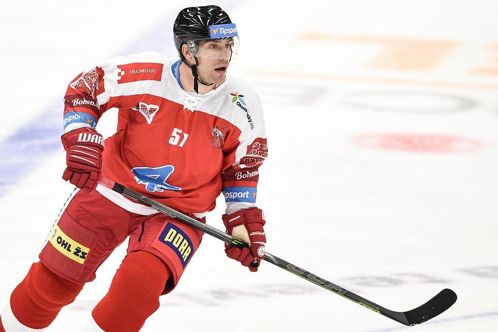 Utkání 1. kola hokejové extraligy: HC Vítkovice Ridera - HC Olomouc, 13. září v Ostravě. Na snímku Rostislav Olesz.