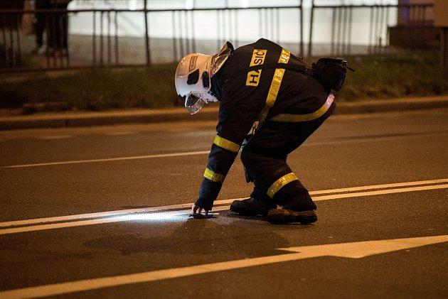 Zásah hasičů upožáru vDomově seniorů Kamenec 8.září vOstravě.