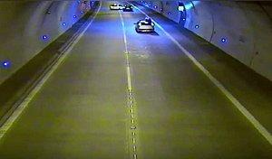 V dálničním tunelu se schylovalo k tragédii