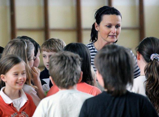 Martina Čiklová, finalistka Zlatého Ámose