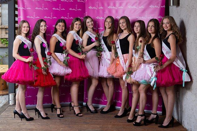 Ze soutěže Dívka roku 2020.