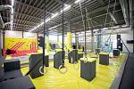 Otevření nového jump centra v Dolní oblast Vítkovice s názvem Hop jump, 4. dubna 2019 v Ostravě.