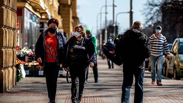 Snímek z období, kdy svět zasáhla pandemie koronaviru. 19. března 2020, Ostrava.