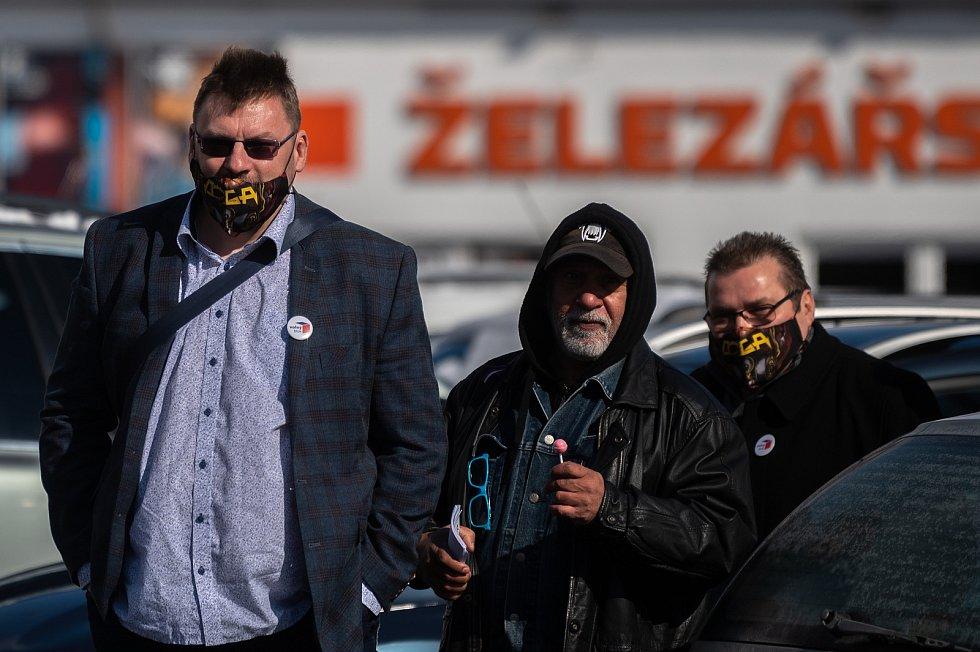 Procházka s Volným blokem, kterou pořádá Lubomír Volný (Poslanec Parlamentu České republiky), se uskutečnila 20. března 2021 v Bruntále.