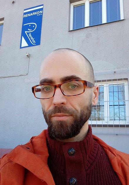 Jan Horák, terapeut, sociální pracovník a mentor vneziskové organizaci Renarkon.