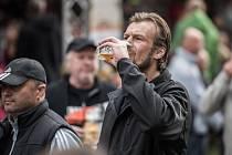 Svatováclavské pivní slavnosti na zámečku v Zábřehu.
