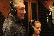 Karel Gott s dcerou Charlotte Ellou