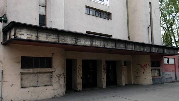 Bývalé kino Mír v Ostravě