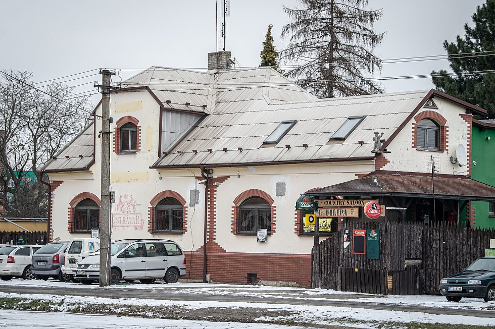 Ostravský městský obvod Nová Bělá, leden 2021.