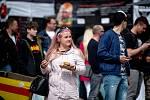 Burger festival u obchodního a zábavního centra Forum Nová Karolina v centru Ostravy, 10. května 2019.