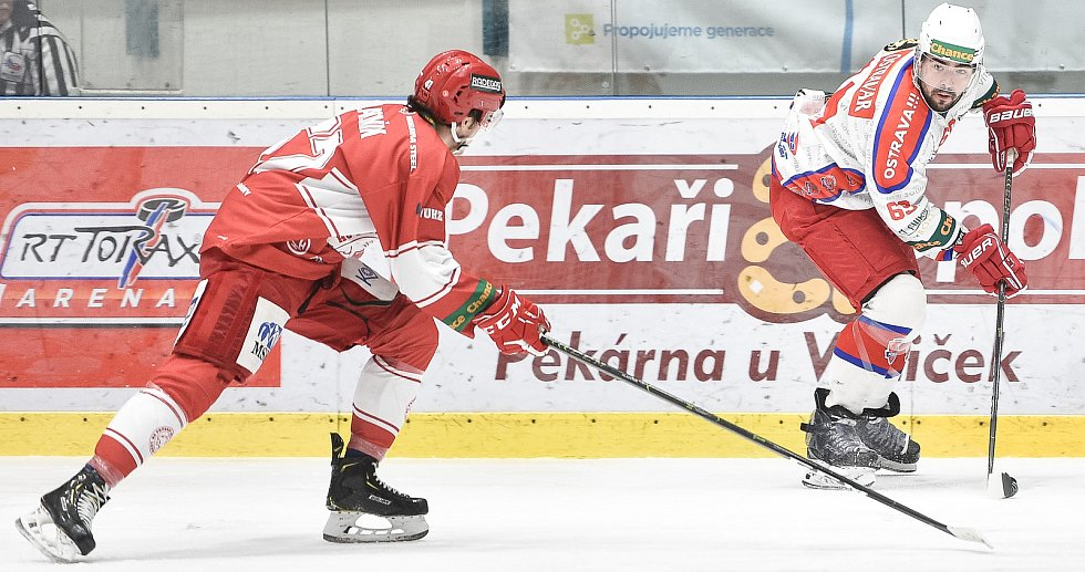 Chance liga: Poruba – Frýdek-Místek, 7. prosince 2019 v Ostravě.