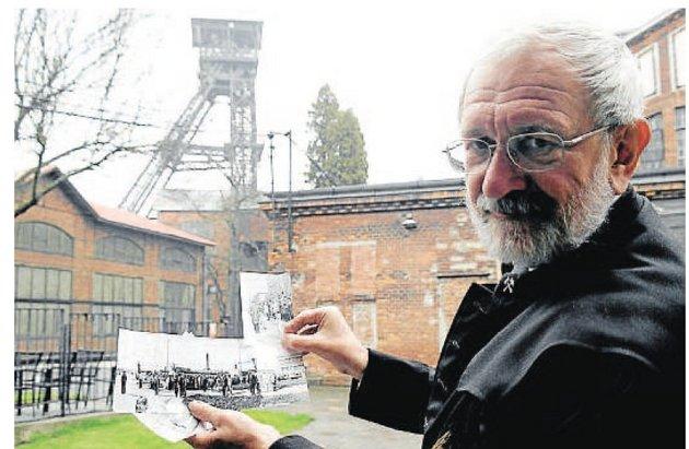 Bývalý horník Jiří Kunčický