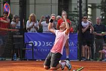 Tenista Filip Duda bude obhajovat titul z Mistrovství České republiky z posledního ročníku. Foto: MČR 2019