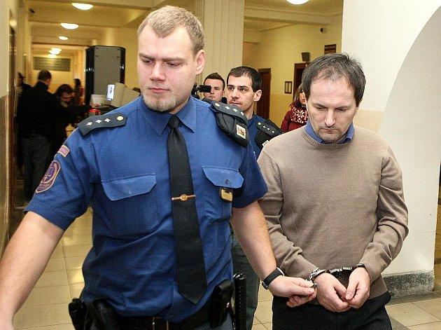 Ladislav Dresler u ostravského soudu.